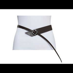 WORTH NEW YORK COLLECTING LEATHER BELT Size PT